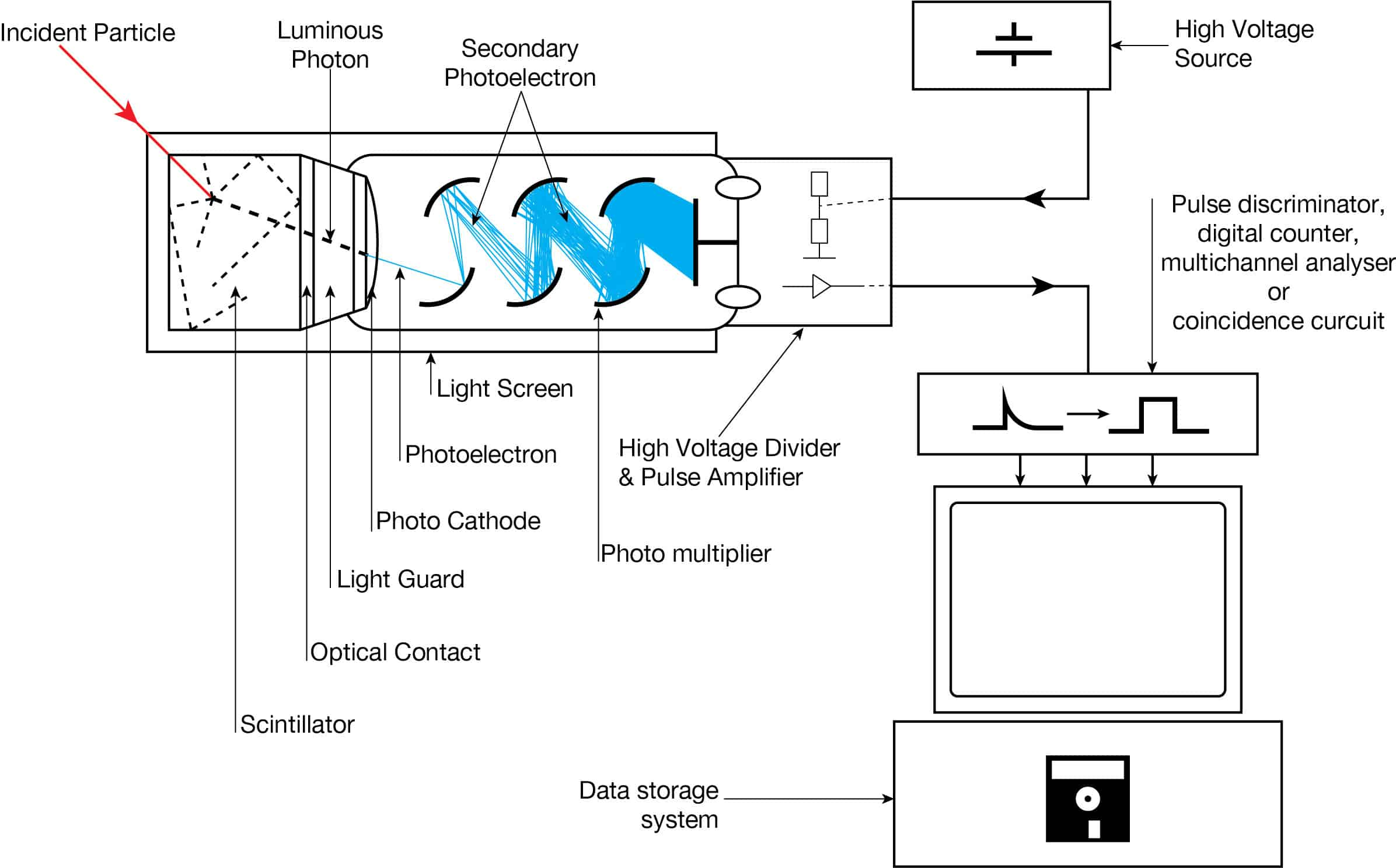 What Is Scintillation Counter Scintillation Detector Definition